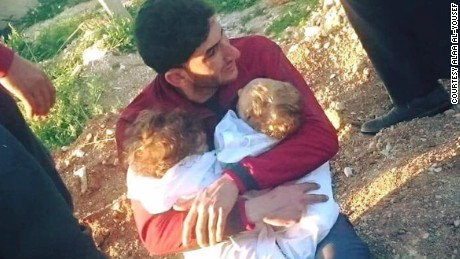 Syrian describes losing 25 relatives in attack