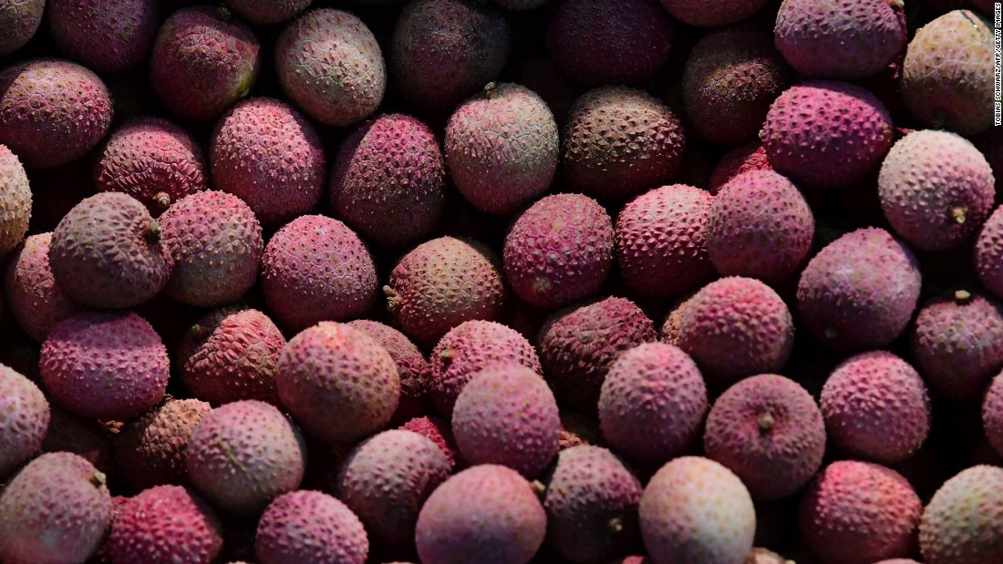 Naturally occurring toxins in the lychee fruit have been linked to toxicity that leads to fever, convulsions and seizures.