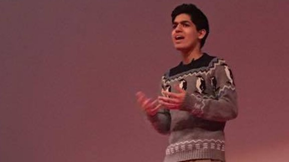 Ahmed founded Redefy, a nonprofit organization, and has given a TEDx talk.