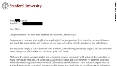 Stanford admission essays
