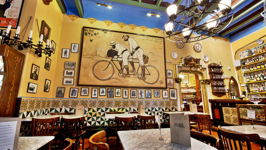 Restaurant Gats Barcelona : Picassos catalonia: walk in the artists footsteps cnn travel