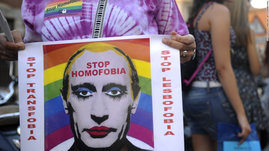 Russia Bans Images Of Putin Linked To Gay Clown Meme Cnn