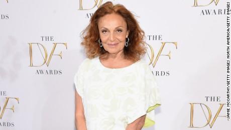 NEW YORK, NY - APRIL 23:  Diane Von Furstenberg attends the 2015 DVF Awards at United Nations on April 23, 2015 in New York City.  (Photo by Jamie McCarthy/Getty Images)
