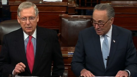 Neil Gorsuch vote senate final arguments Schumer McConnell bts_00005116