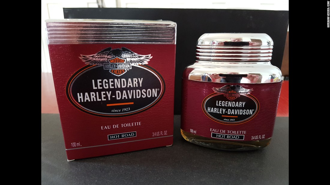 "This Harley Davidson perfume was launched in 1996 and was, according to West, ""a total flop,"" because it ""didn't go well with the macho crowd."""