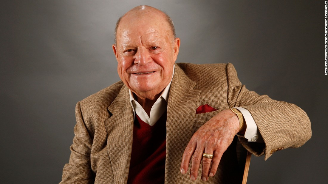 "Comedian and actor <a href=""http://www.cnn.com/2017/04/06/entertainment/don-rickles-dead/index.html"" target=""_blank"">Don Rickles </a>died at his home in Los Angeles on April 6, according to his publicist Paul Shefrin. Rickles was 90."