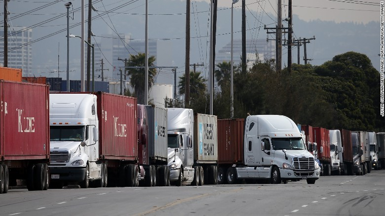 California sex stops truck
