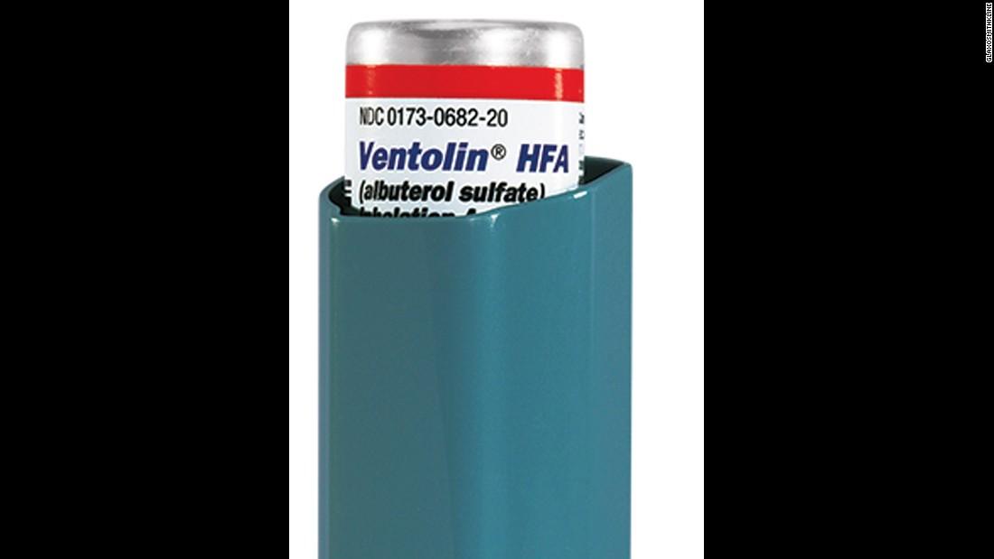 600 000 Albuterol Inhalers Recalled Cnn