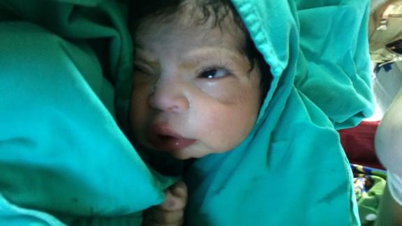 Maria Josefa Pingo Sanchez named her daughter Cielo, Spanish for sky.