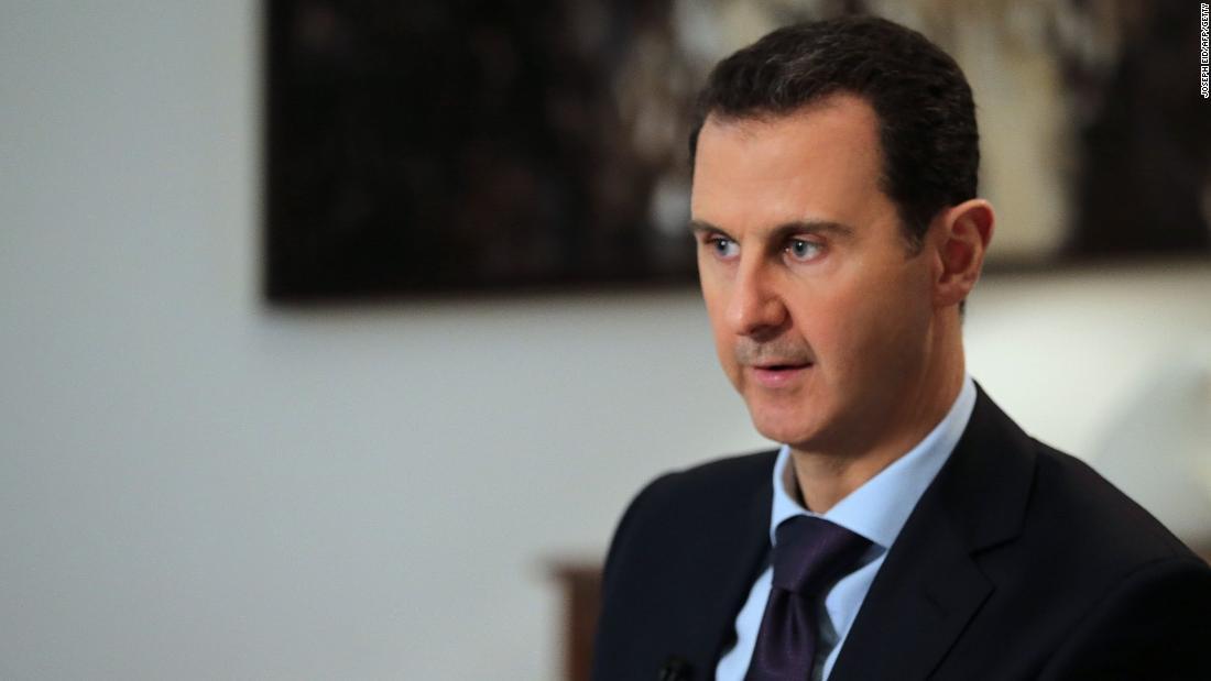 レポートはシリア政府軍に責任2017年化学攻撃