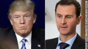 US, UK and France launch Syria strikes targeting Assad's chemical weapons