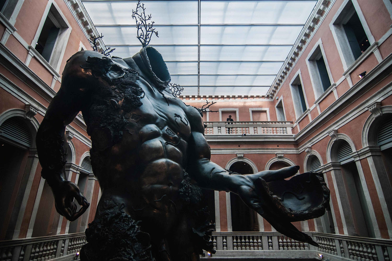 Damien Hirst Unveils Sunken Treasures In Venice Cnn Style