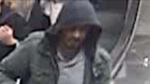 Police say they want to speak to this man about the attack.