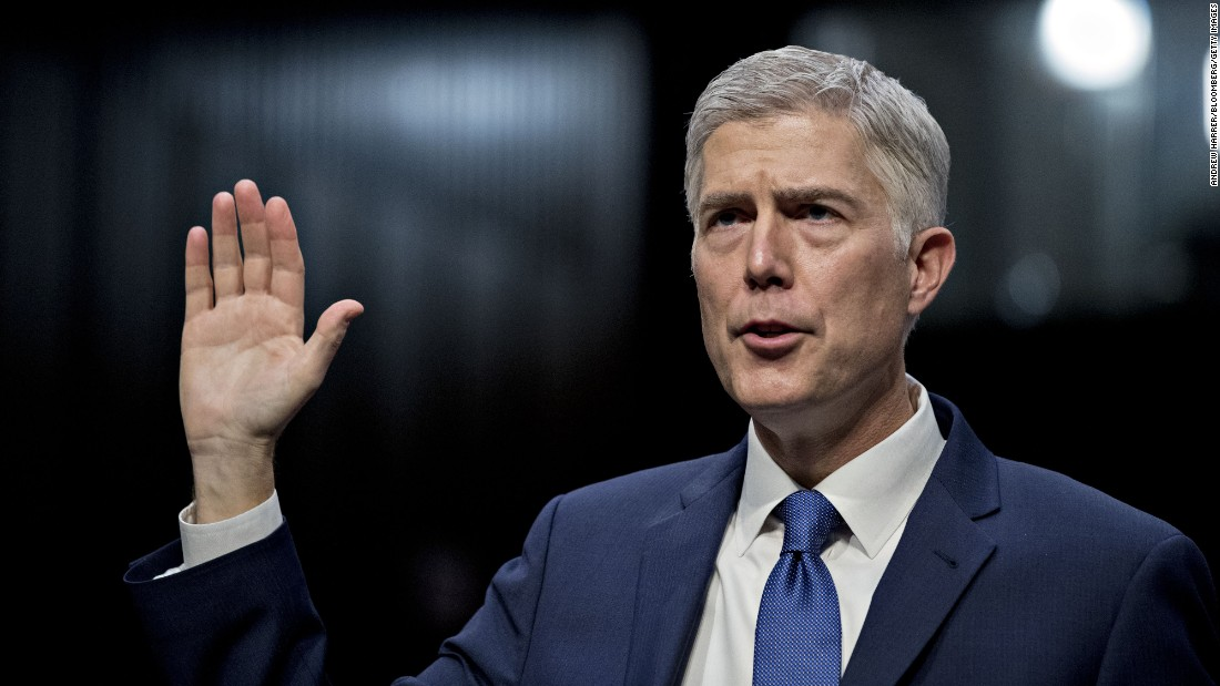 Gorsuch sides with liberals as Supreme Court rules in favor of Native American rights in Wyoming hunting case