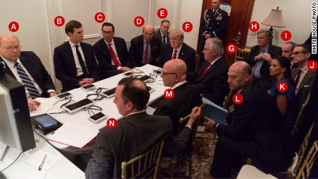What this photo of Trump's war room tells us