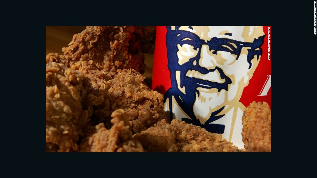 "<strong>KFC - Grade: B- </strong>""We're proud to be the first major chicken chain to commit to removing antibiotics important to human medicine in all of our chicken, including bone-in chicken,"" the company said in a statement to CNN. ""This change presented a unique challenge for us because we serve chicken-on-the-bone. As such, this move required close collaboration with our suppliers who bring KFC chicken from the farm to our kitchens where it is hand-prepared."" <br />"