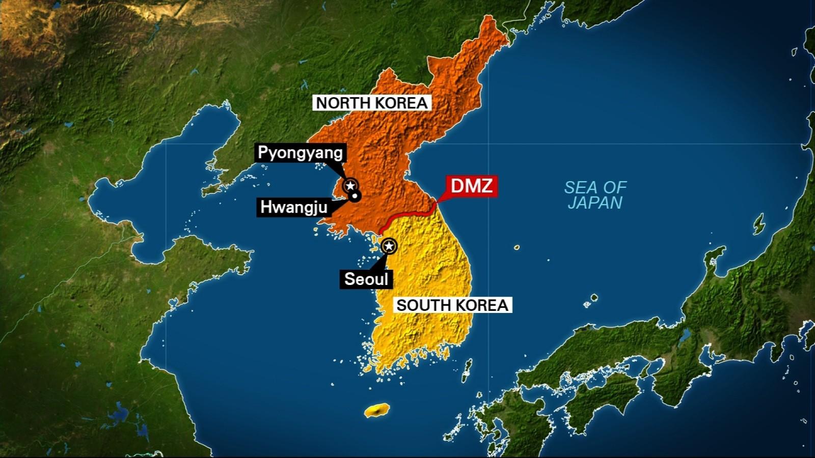 Image result for North Korea and South Korea