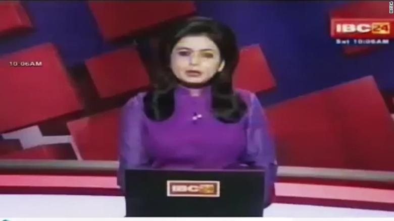News anchor reports husband's death