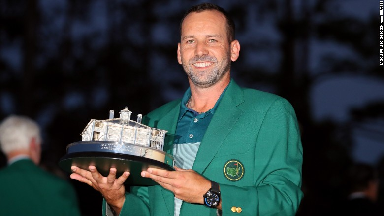 Sergio Garcia reflects on Masters win