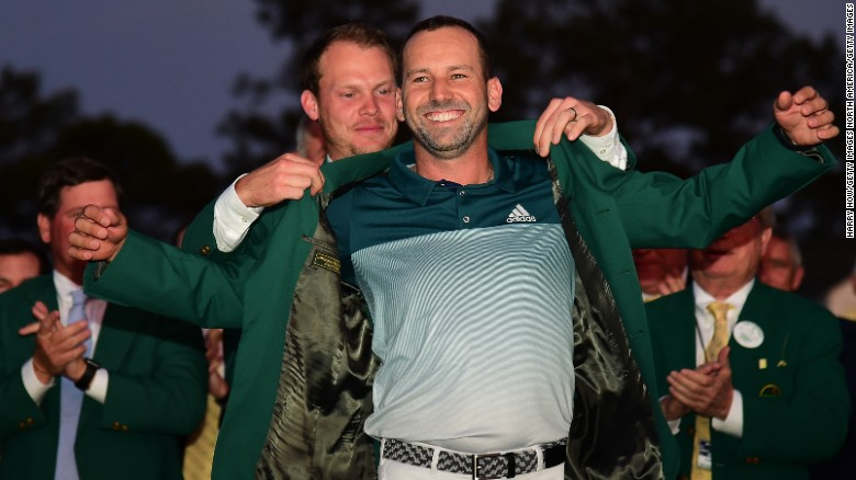 Sergio wins The Masters
