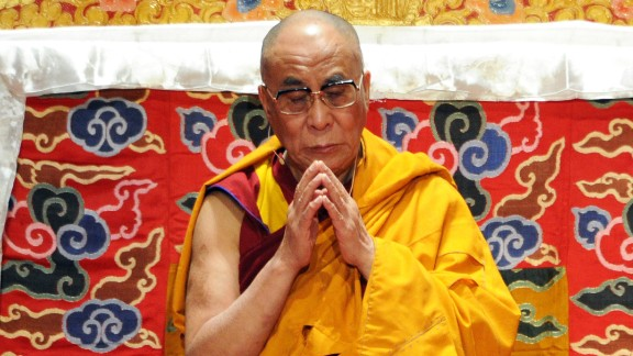 (FILES) This file picture dated May 20, 2010 shows exiled Tibetan spiritual leader the Dalai Lama meditating during the first of his teaching sessions at Radio City Hall in New York. On November 23, 2010 the Dalai Lama's spokesman told AFP his intentions to retire as head of the Tibetan government in exile next year as he looks to scale back his workload and reduce his ceremonial role. The Tibetan movement in exile, based in the northern Indian hill station of Dharamshala since 1960, directly elected a political leader in 2001 for the first time. AFP PHOTO / Stan Honda (Photo credit should read STAN HONDA/AFP/Getty Images)