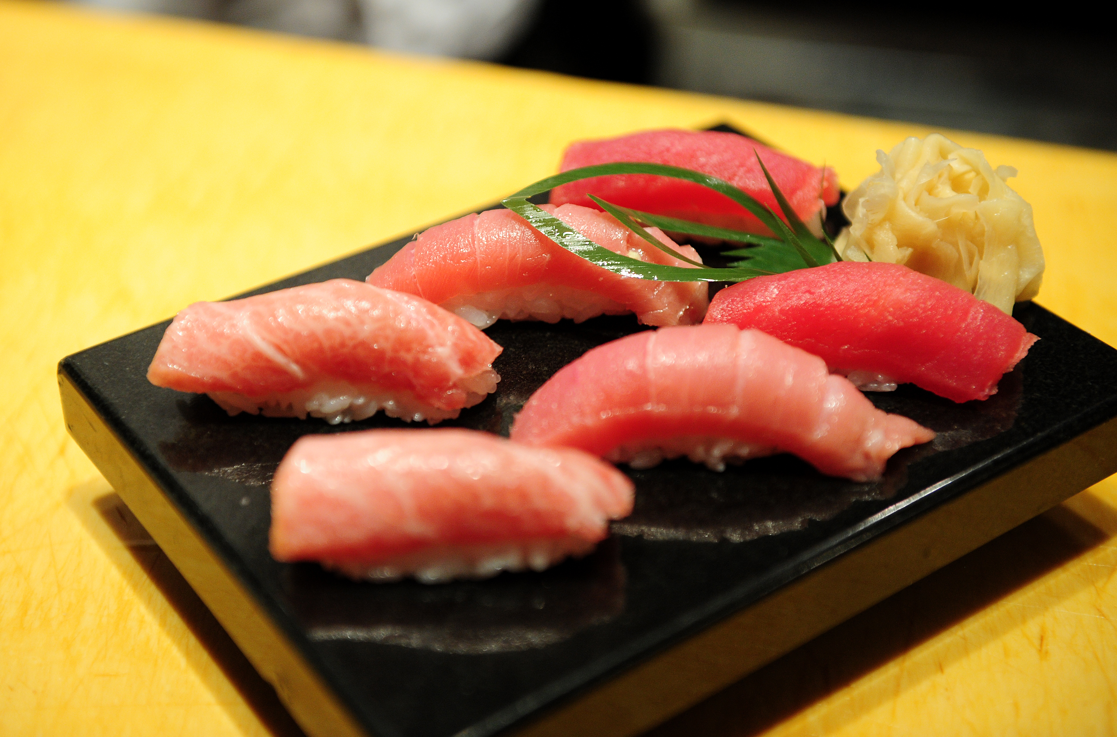 f47846d82fbc Tokyo swims in sushi restaurants  4 of the best