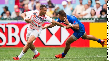 Winger Dan Norton now has a record 246 tries in rugby sevens