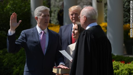 Forget Trump's first 100, what about Gorsuch's first 10?