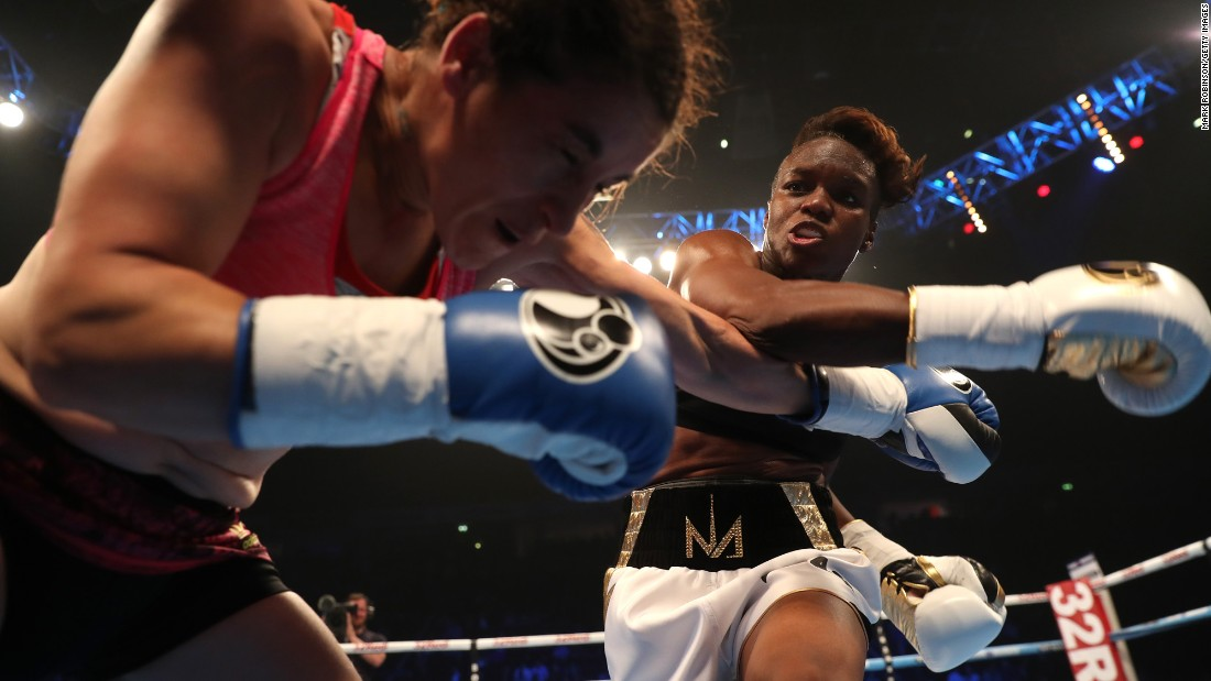 Safely inscribed in the history books as the first women's Olympic boxing champion, Adams retained her title at Rio 2016 and continues to dominate the flyweight division.