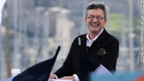 French presidential candidate for Jean-Luc Melenchon is known for his firebrand politics and his way with words.