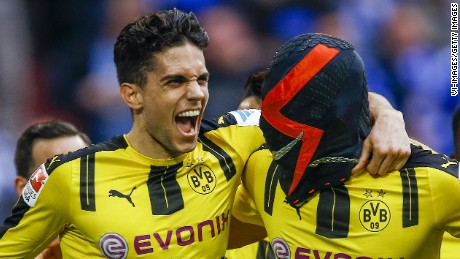 Marc Bartra of Borussia Dortmund was injured in the blasts, the team says.