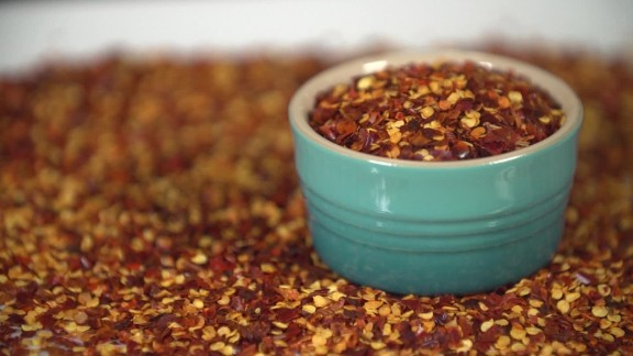 Red pepper flakes contain capsaicin, which can help suppress your appetite.