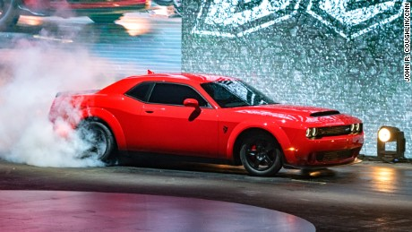 New Dodge Pops A Wheelie In Test Cnn Video