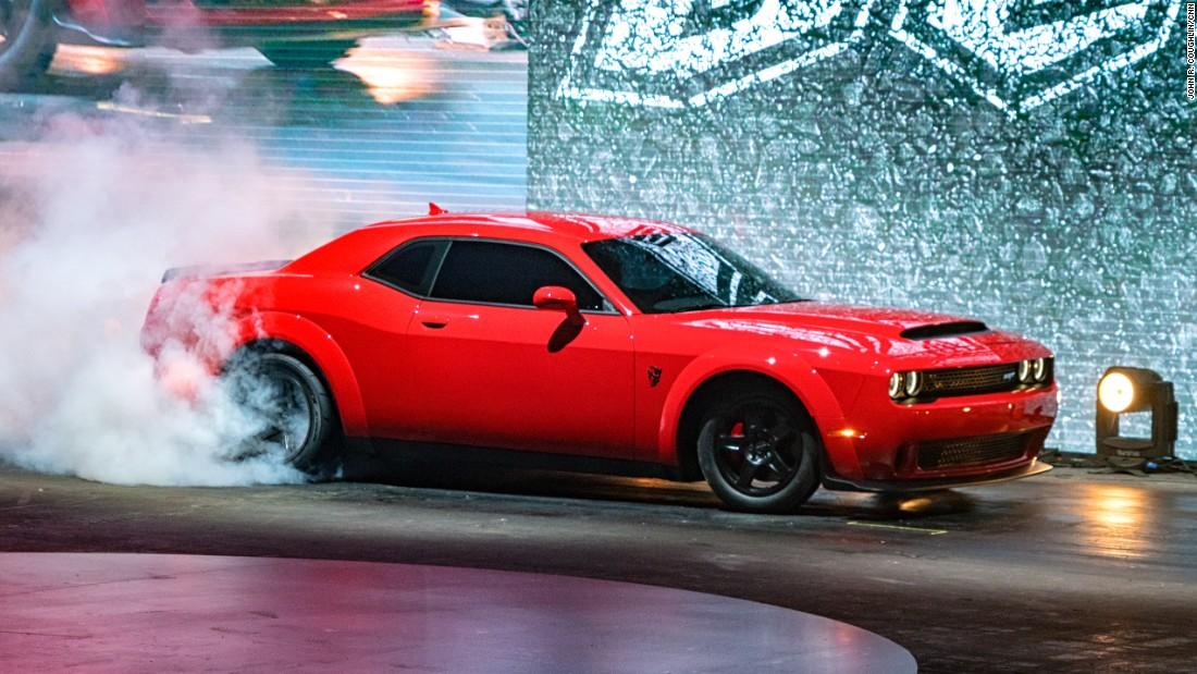 New Dodge pops a wheelie in test - CNN Video