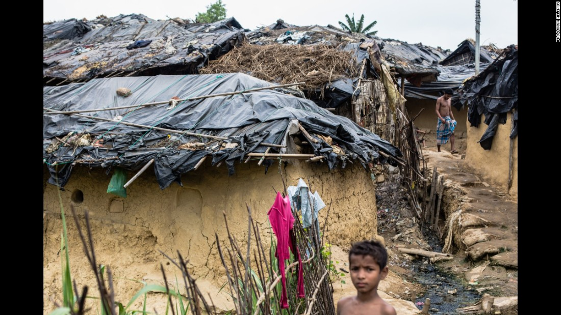 Many are living in unplanned and overcrowded settlements in Cox's Bazar, where living conditions are extremely poor.
