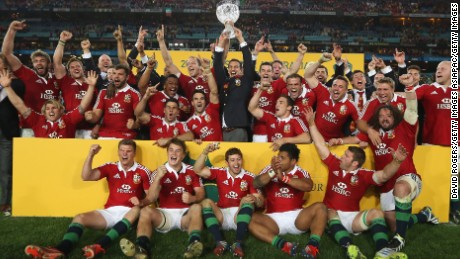 British & Irish Lions: a hallowed tradition