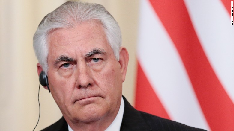 Tillerson: Russia-US relations at a low point