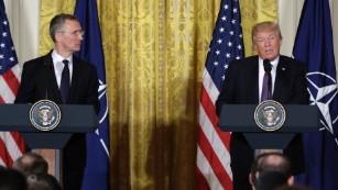 Como Donald Trump chegou a amar a OTAN