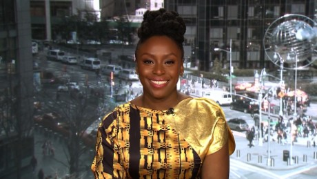 Author Chimamanda Ngozi Adichie is supporting a campaign to buy local goods in Nigeria.