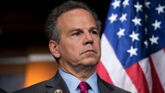 "UNITED STATES - APRIL 28: Rep. David Cicilline, D-R.I., attends a news conference in Capitol Visitor Center on the Equality Act which would ""extend anti-discrimination protections to LGBT individuals,"" April 28, 2016. (Photo By Tom Williams/CQ Roll Call)"