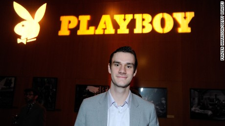 "Cooper Hefner attends Relativity Media's premiere of ""Haywire"" after party co-hosted by Playboy held at DGA Theater on January 5, 2012 in Los Angeles, California."