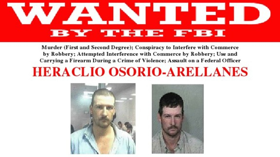 Heraclio Osorio-Arellanes was arrested Wednesday in Mexico, federal officials said.