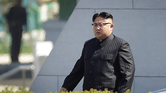 North Korean leader Kim Jong Un attended the ceremony.