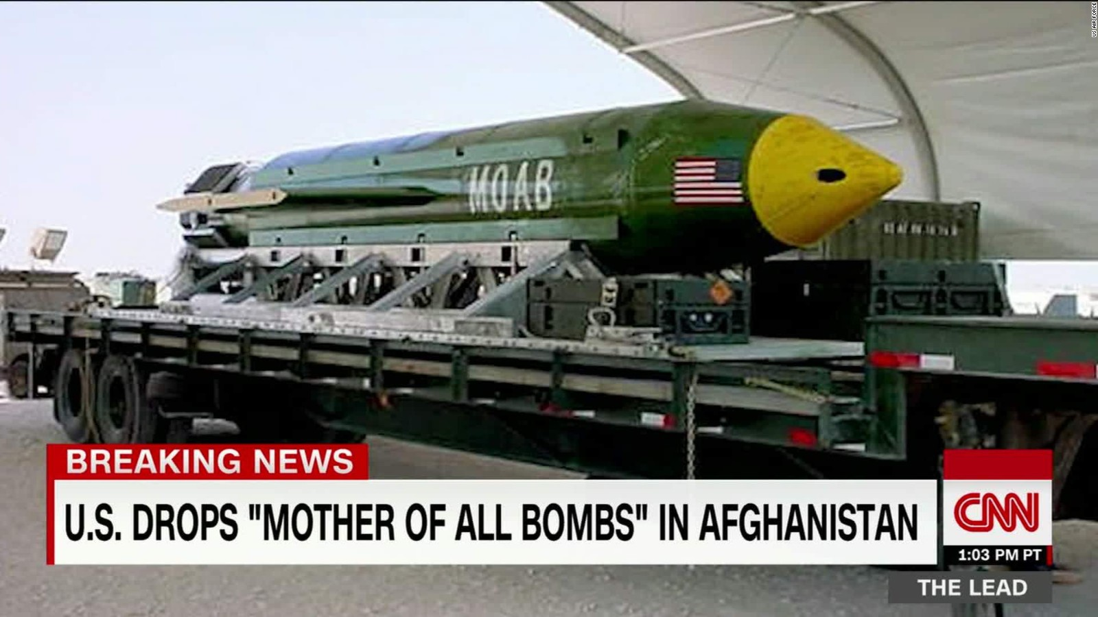 Watch: Moment 'mother of all bombs' explodes - CNN Video