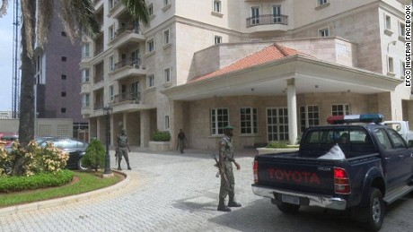 Nigeria's anti-graft agency found the $43 million stash in an apartment in an upscale part of Lagos.
