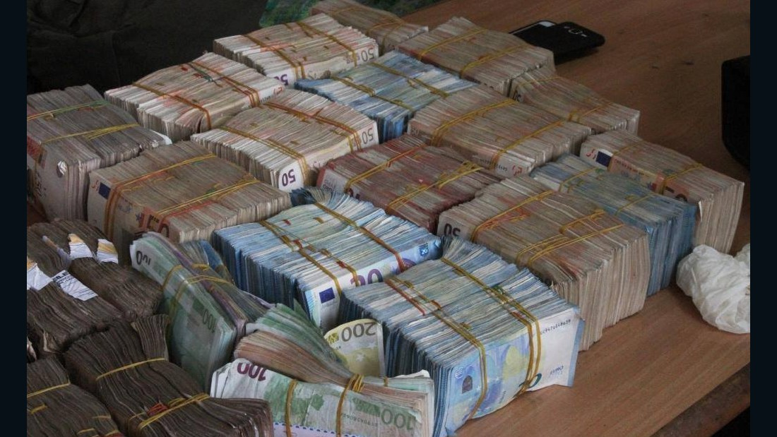 Earlier in the week the agency discovered around N250 million in cash ($819,403) in a Lagos market