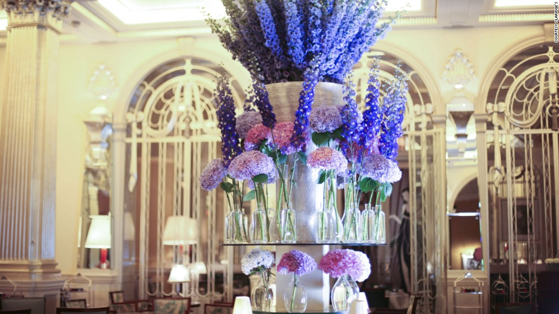 The World S Most Beautiful Floral Hotels Cnn Travel