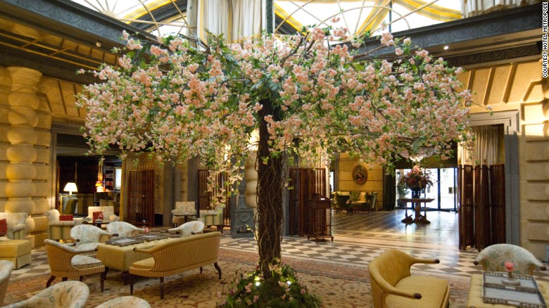 The Worldu0027s Most Beautiful Floral Hotels | CNN Travel