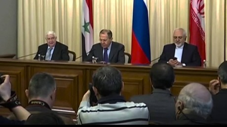 Lavrov to US: Respect Syrian sovereignty