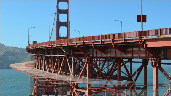In 2016, 39 people died jumping off the Golden Gate Bridge. Local officials, lawmakers and families of those who died to call for the construction of barriers to deter people from jumping off the 220-foot-tall bridge.
